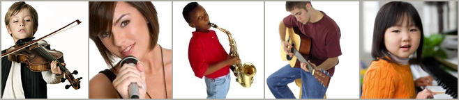 Piano, Voice, Guitar, Singing, Violin, Sax Music Lessons