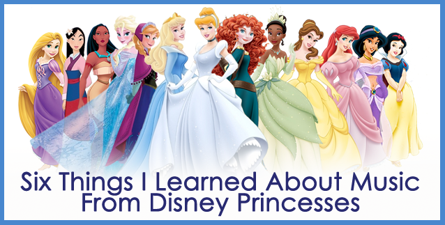 SixThingsDisneyPrincesses